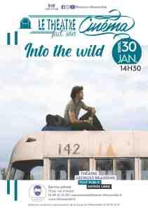 """ANNULÉE // Cinéma : projection du film """"Into the wild"""" @ Théâtre Georges Brassens"""