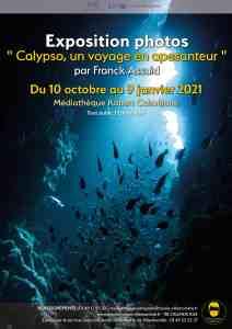 "Expo photos : ""Calypso, un voyage en apesanteur"" de Franck Assuid @ Médiathèque Robert Calméjane"