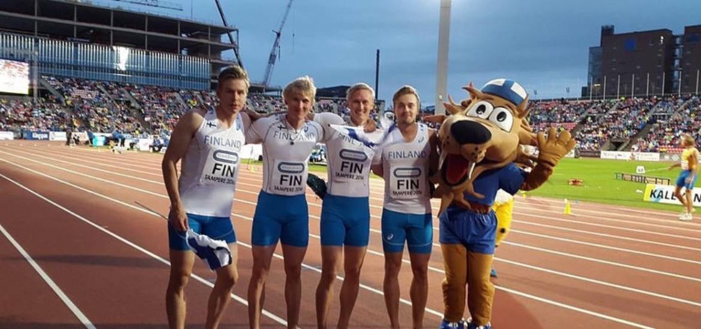 100m Suomen Ennätys