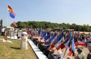 mémorial cimetière américain Villeneuve sur Auvers