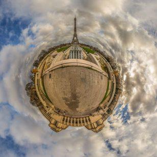 Patrick NGuyen - Tour Eiffel vue de Trocadero