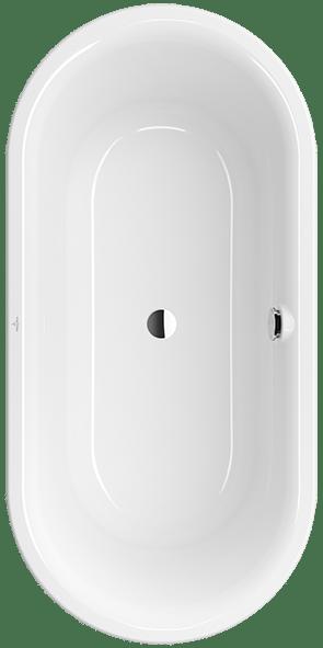 O Novo Bath Oval Uba165fdn7pdv Villeroy Amp Boch