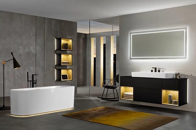 Finion  Design und raffinierte Beleuchtung  Villeroy  Boch