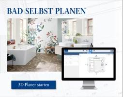 3D Badplaner Das eigene Traumbad online gestalten ...