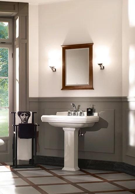 Hommage  Collection pour salle de bains en relief  Villeroy  Boch