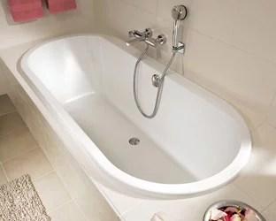 baignoires ovales les baignoires ovales villeroy boch