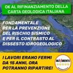 Manovra: Ok a 15 MLN in 3 anni per completare carta geologica italiana