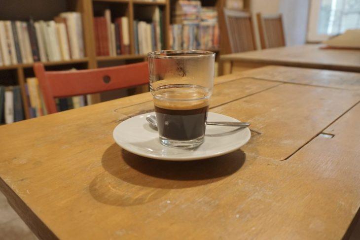 Coffee at Mint Vinetu cafe in Vilnius