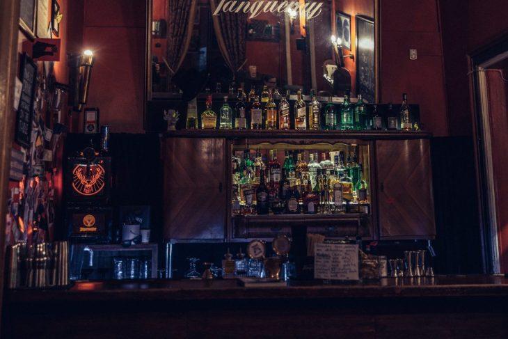 Cocktail bar in Vilnius