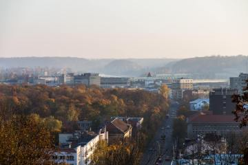Kaunas panoramic view