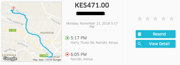 Dat UBER Ride (Nairobi Traffic!!!!)