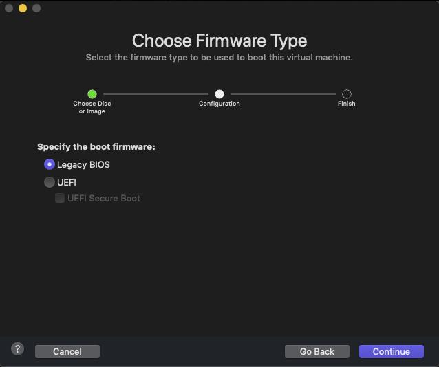 Select BIOS