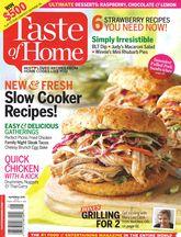 Free Taste of Home Magazine Subscription