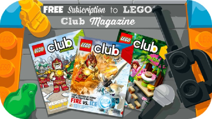 Lego Magazine Subscription