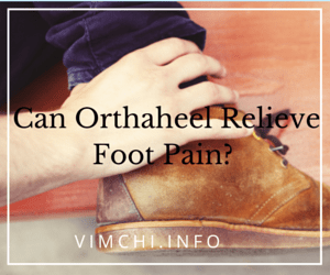 Can Orthaheel Relieve Foot Pain-