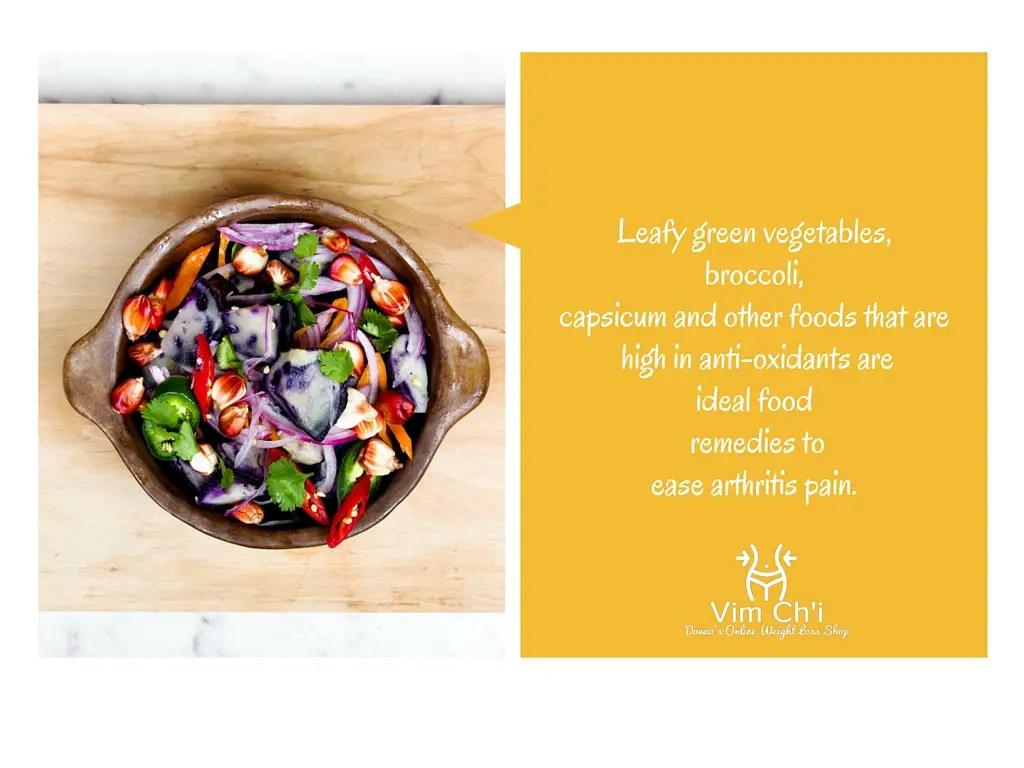 Leafyvegetables5 Must-Have Food Remedies to Ease Rheumatoid Arthritis Pain