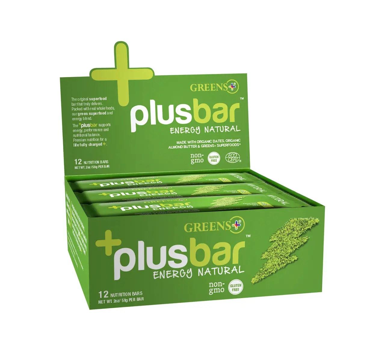 greens plusbar protein bar