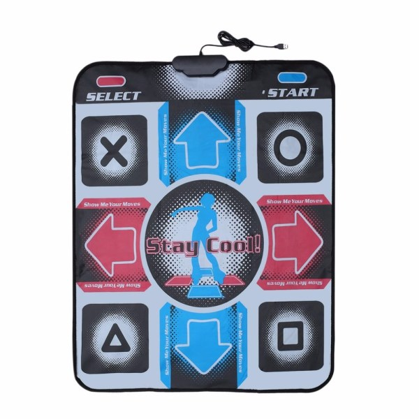 HD New Dance Step Mat Pad - Fitness Equipment for Weight Loss Goals