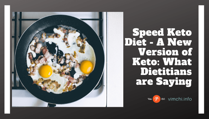 speed keto diet or a modified keto version