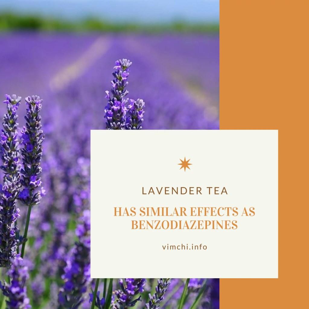 What herbal tea is good for headaches? lavender tea