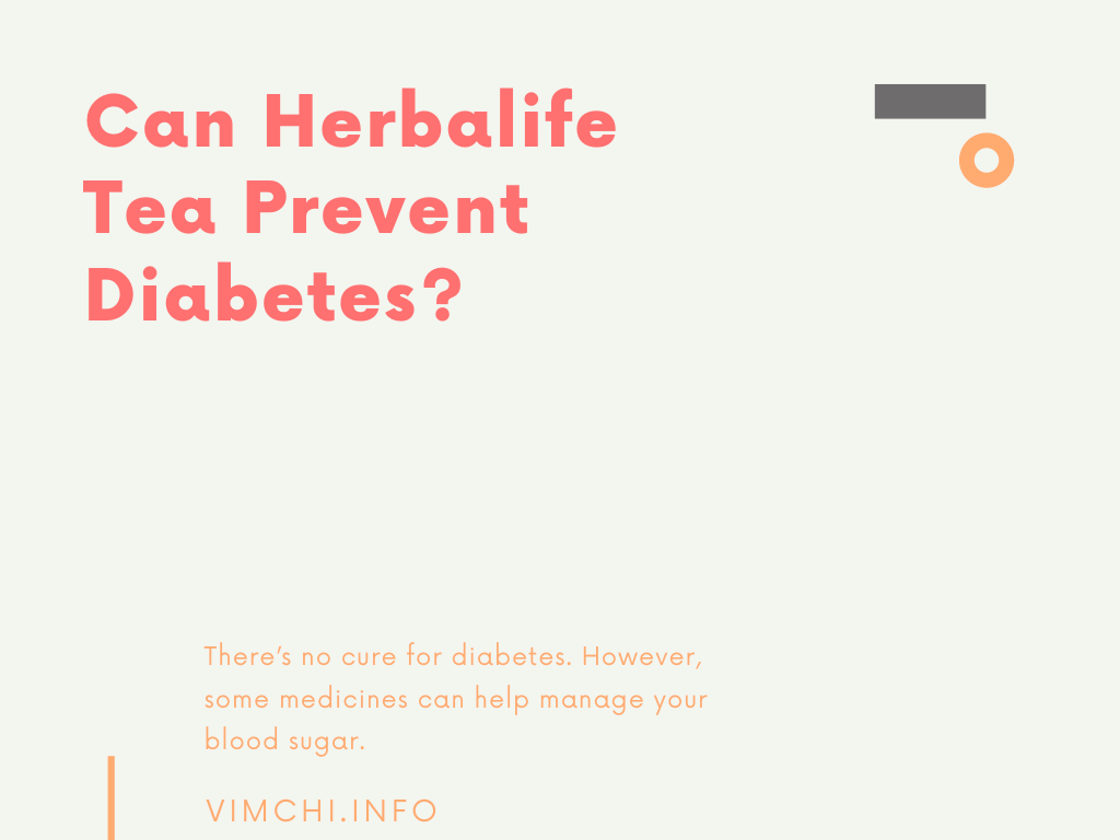 can herbalife tea prevent diabetes