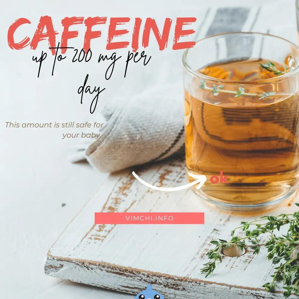 herbalife tea when pregnant caffeine