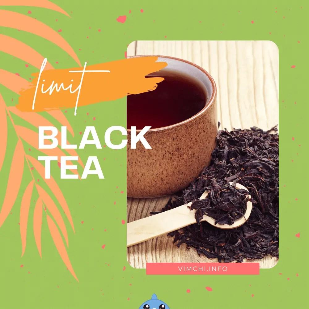 herbalife tea when pregnant - limit black tea