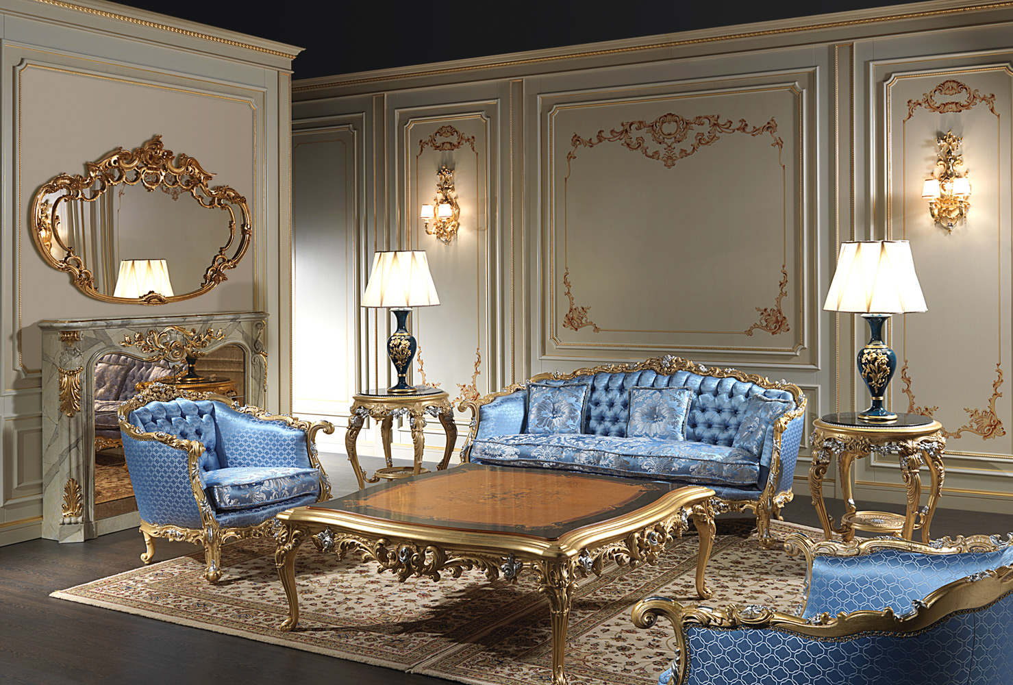 Eighteenth Century Living Room Furniture Inspired To The