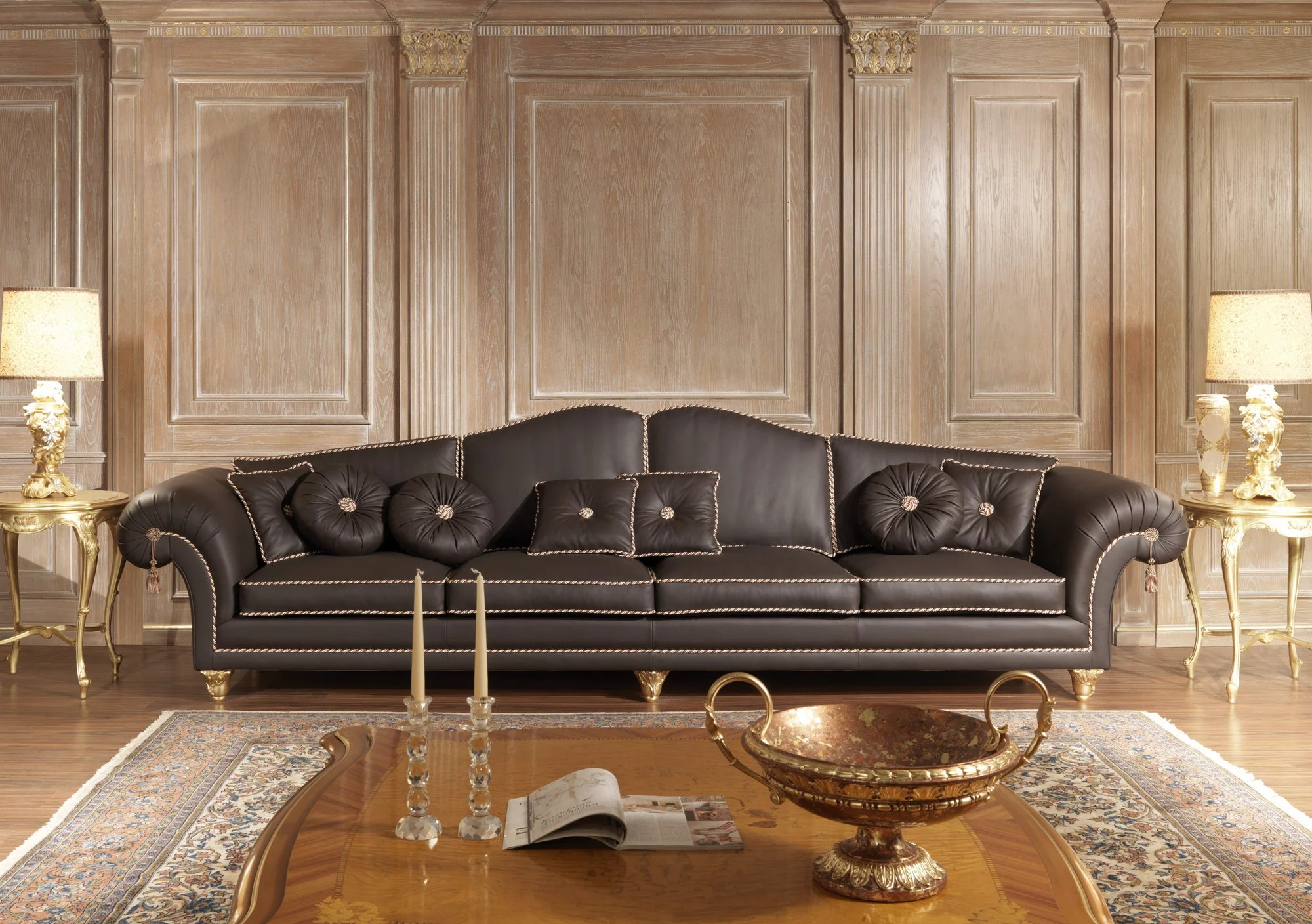 classic sofa leather design living room sofas for luxury rooms