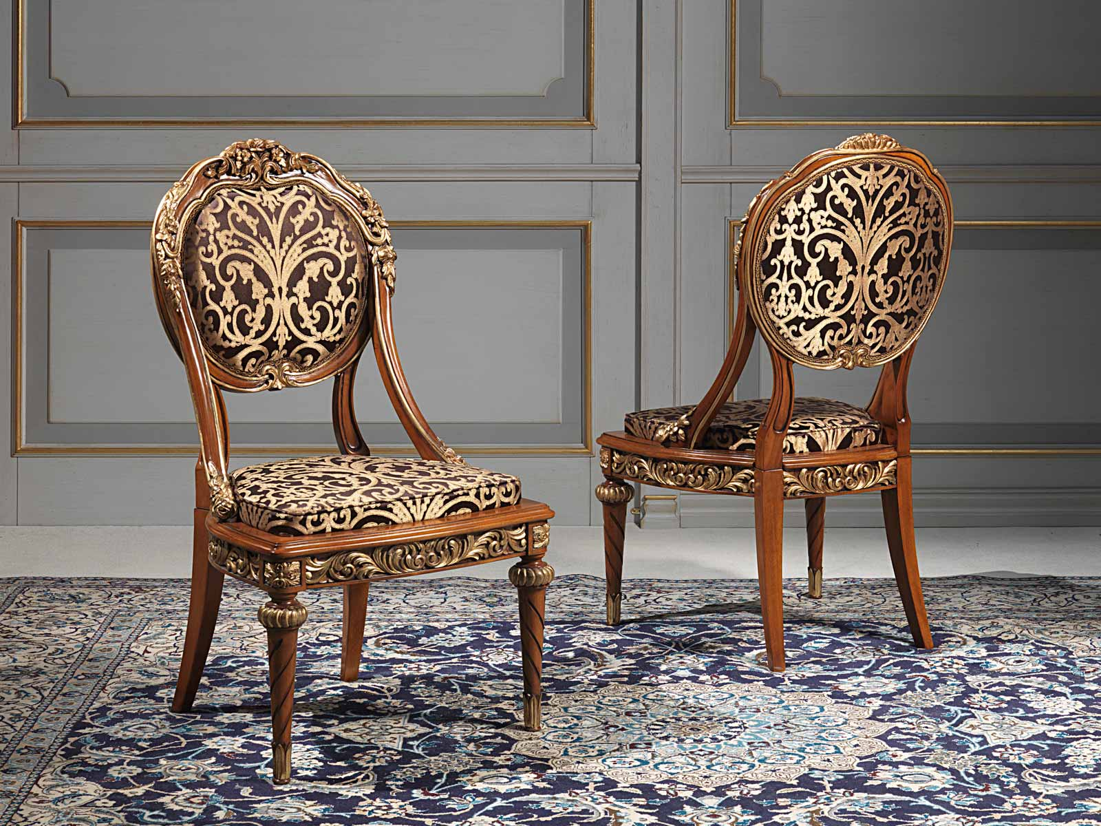 Versailles chairs in Louis XVI style  Vimercati Classic