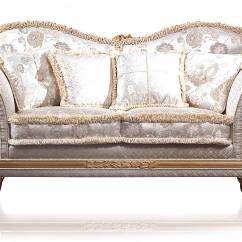 Classic Sofa What Is The Comfiest Bed Excelsior Floral Ivoy Fabric Vimercati