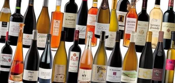 Vins produits en Languedoc-Roussillon