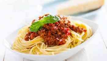 Meilleurs vins pour les spaghettis