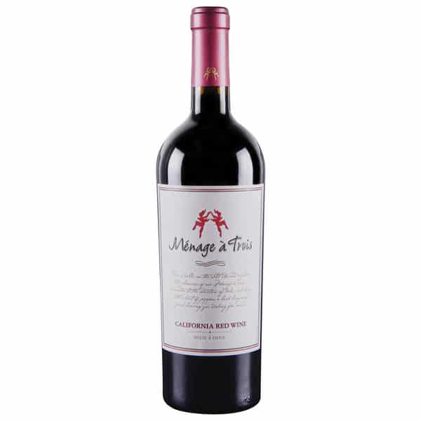 vin rouge sucré de faible qualité