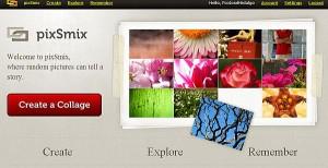 pixSmix 300x154 Crear collages con PixSmix