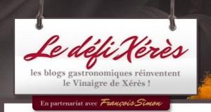 Blog Défi Xérès- Vinaigre de Xérès