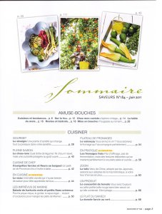 Saveurs 184 - Le Magazine de l'Art de Vivre Gourmand