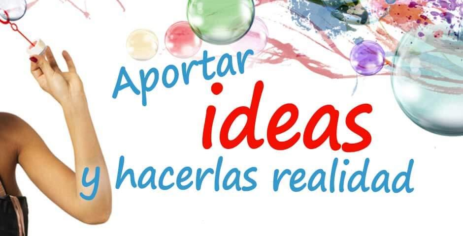 Aportamos ideas y soluciones