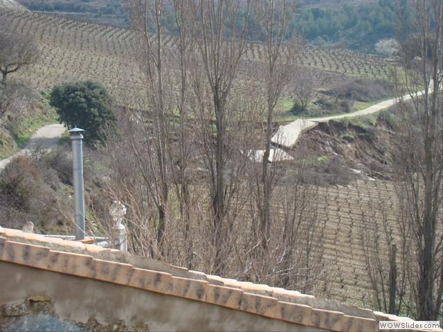 Carrayecora desde el frontón