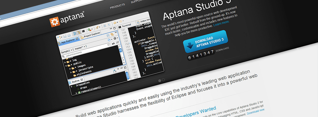 Aptana Studio better than Dreamweaver