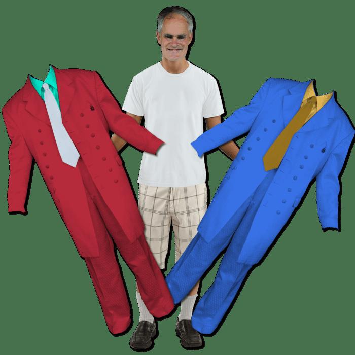 Vincent Dress-Up Magnets