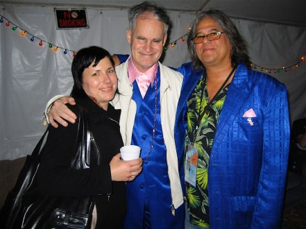 Vincent with editor Christine Gilliland Wolf and filmmaker Paul Hasegawa-Overacker.