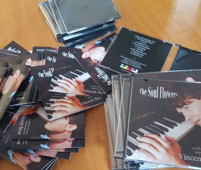 The Soul Flowers A Piano Album By Vincent Boot