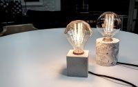 Simple- a concrete desk lamp - Vincent Buret