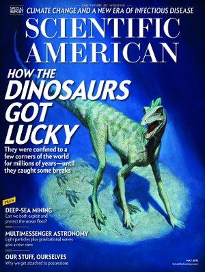 Magazine Scientific American version internationale dans lequel a été publié la campagne Dior