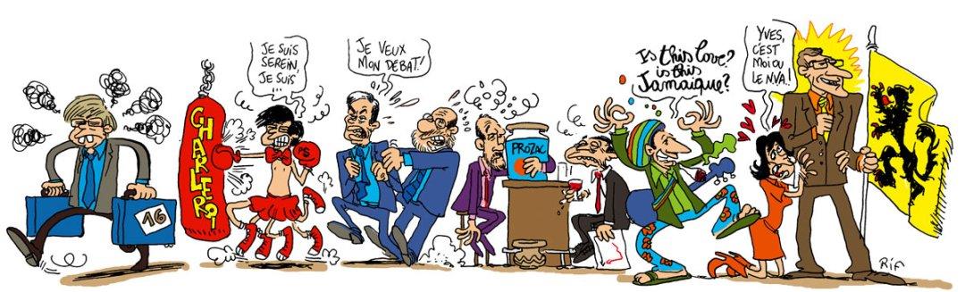 Résultats des élections du 10 juin