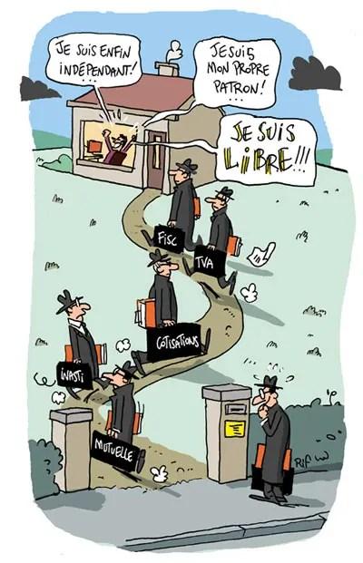 Le statut de travailleur ind pendant en belgique vincent rif for Statut musicien independant