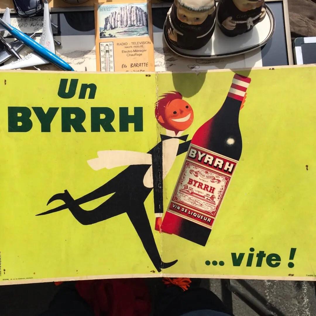 publicité vintage Rohonyi Byrrh
