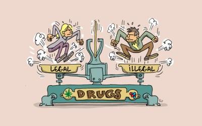 Débat sur la décrimilisation de la drogue