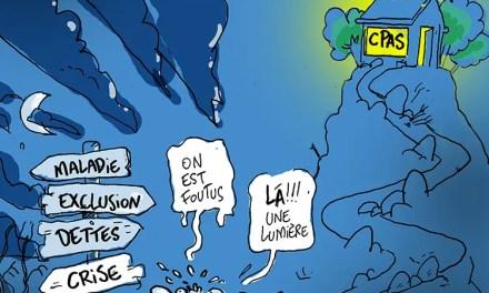 """Illustration sur les CPAS, ou """"centres publics d'action sociale"""""""